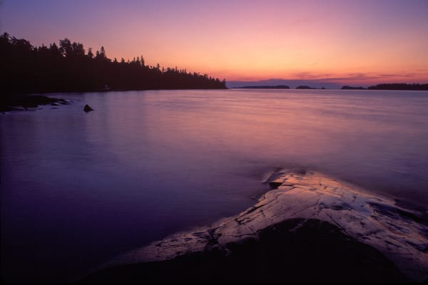 Superior Sunrise, Isle Royale National Park, Michigan.