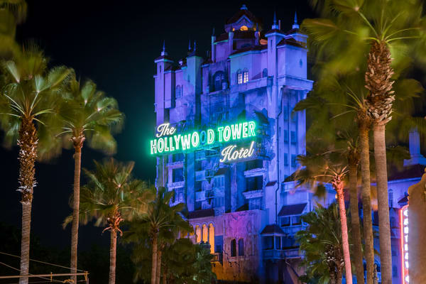 Tower Of Terror At Disney's Hollywood Studios Photography Art | William Drew Photography