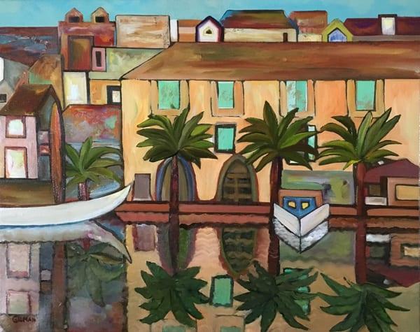 Harbor Reflections Art | Emily Gilman Beezley