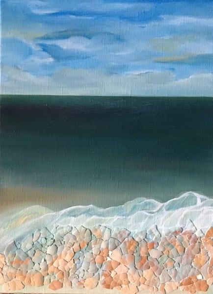 Calm Ocean Art | Emily Gilman Beezley