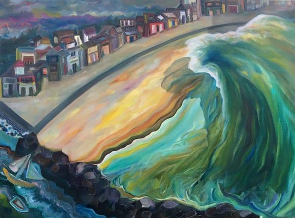 Sold: Manasquan Dream Wave Art | Emily Gilman Beezley