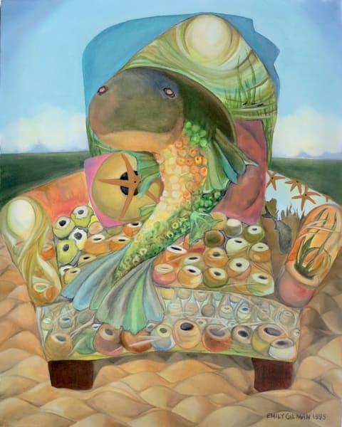 Fish In A Chair Art | Emily Gilman Beezley