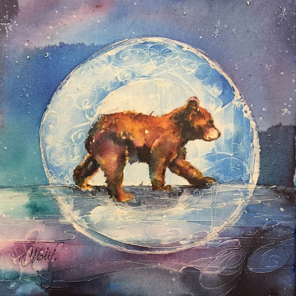 Cubbie Bear Art | Christy! Studios
