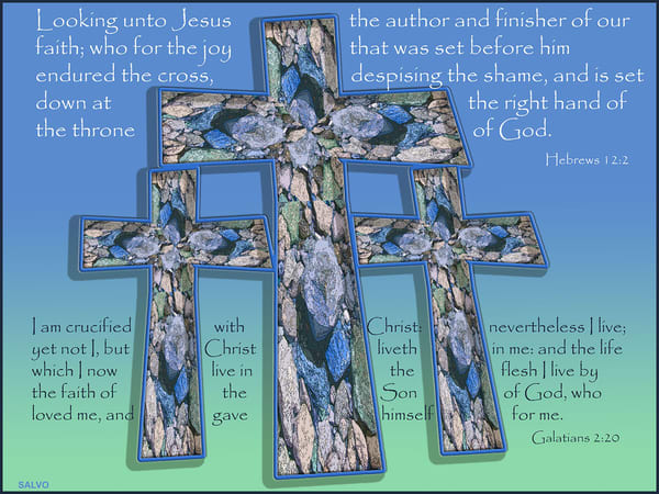 J Salvo   Three Crosses Art | Branson West Art Gallery - Mary Phillip