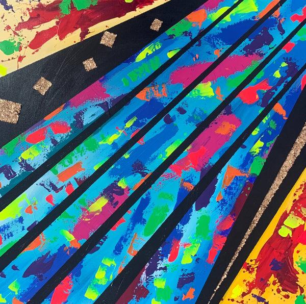 Rainbow Road Art   Courtney Einhorn