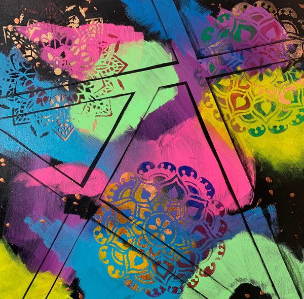 Hippie Art | Courtney Einhorn