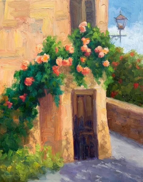 Ancient Roses Art | B. Oliver, Art