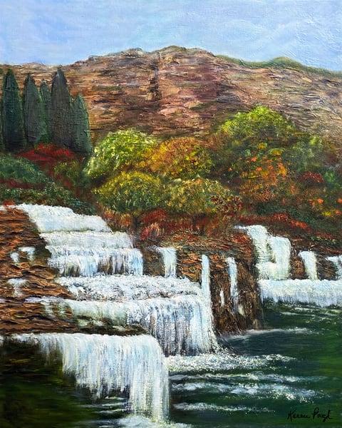 K Pugh   Hidden Falls   Art | Branson West Art Gallery - Mary Phillip