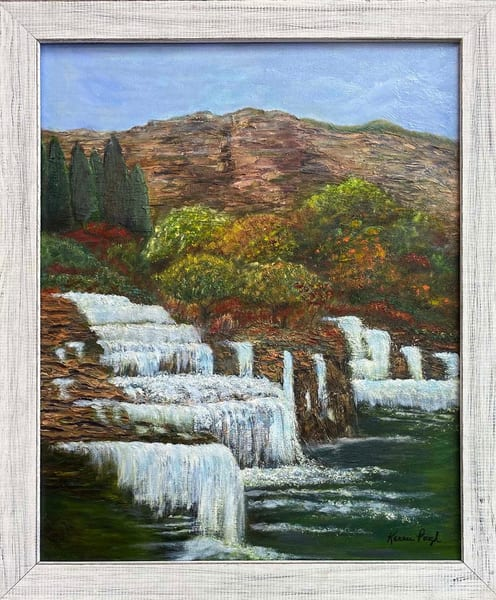 K Pugh   Hidden Falls Original  Art | Branson West Art Gallery - Mary Phillip