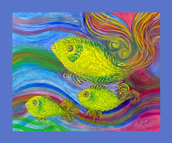 K Pugh   Three Fish Art | Branson West Art Gallery - Mary Phillip