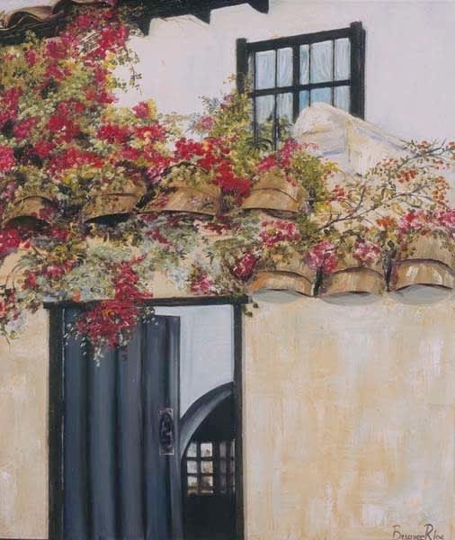 Villa De Leyva Detalle 28in X 31in Art   artecolombianobyberenice