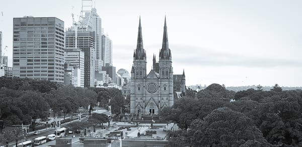 A Part Of Sydney (Black And White) Photography Art | Julie Williams Fine Art Photography