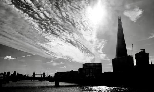 The Shard from Southwark Bridge