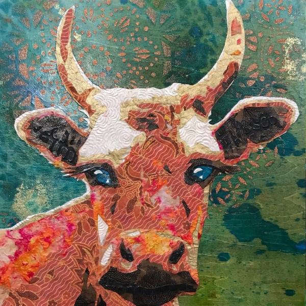 Cow Art   Kristi Abbott Gallery & Studio