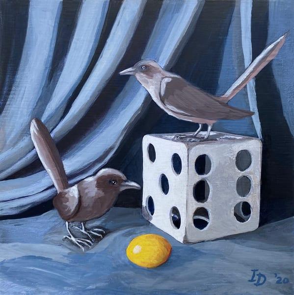 Two Birds & Dice I | smalljoysstudio
