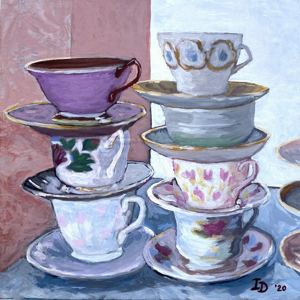 Tea Cups Ii | smalljoysstudio