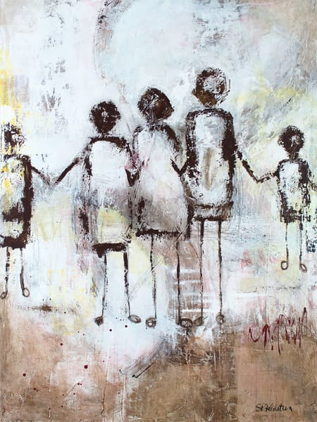 We're All In This Together   No. 1 Art   Southern Heart Studio, LLC