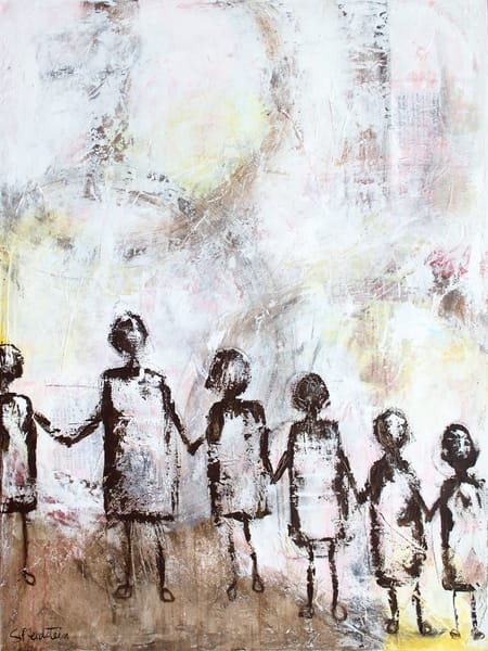 We're All In This Together No. 2   Original Art   Southern Heart Studio, LLC