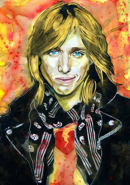 Tom Petty Lf Art | William K. Stidham - heART Art