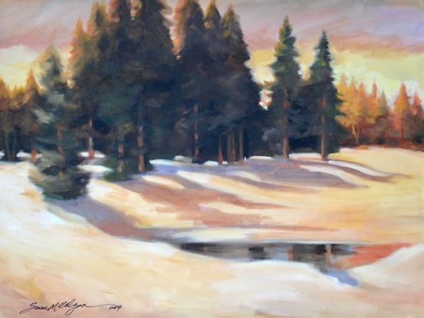 Morning Snow Art | susie mccolgan art