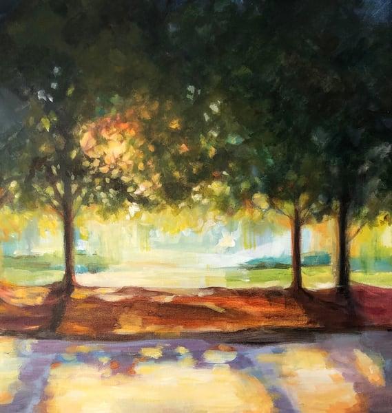 Three Sunbathers Art | susie mccolgan art