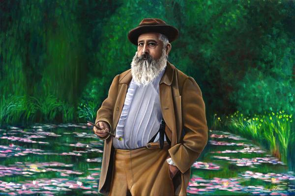 Monet | Original Oil Painting Art | MMG Art Studio | Fine Art Colorado Gallery