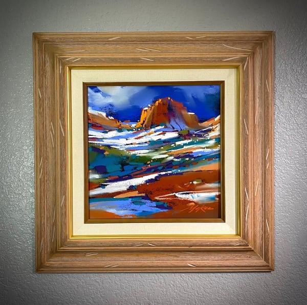 Sedona Snow Study #8 Art | Michael Mckee Gallery Inc.