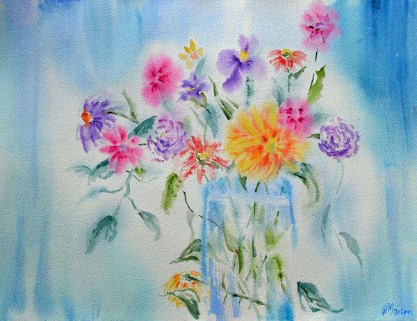 Blooms Conquer The Blues Art   Color Splash Ranch