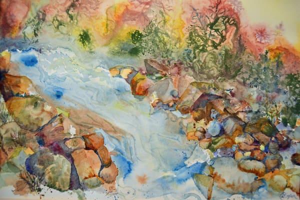 Rock N Roll At Sundown Art | Color Splash Ranch