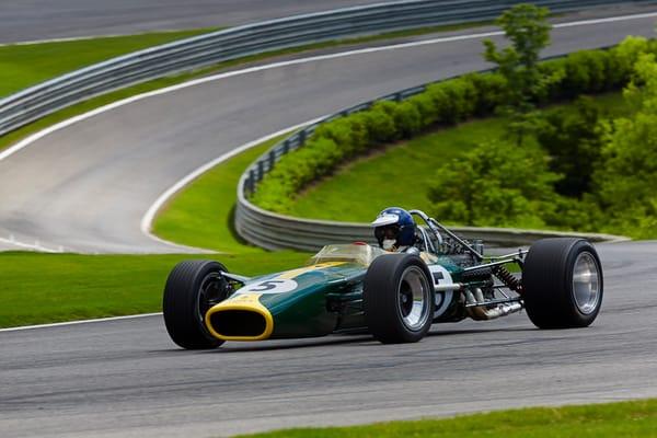 1967 Lotus 49 at Barber