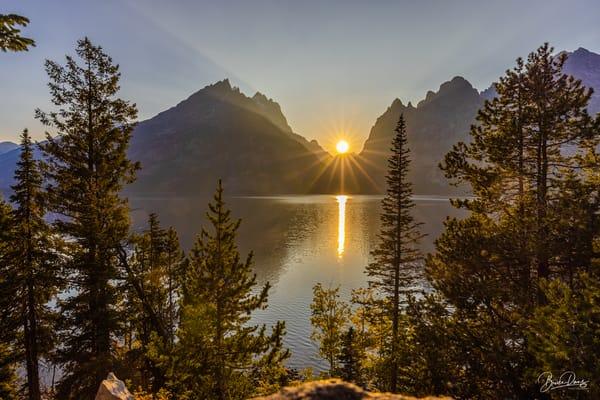 Sunset at Jenny Lake