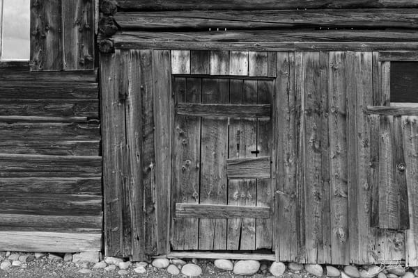 Grand Teton Wood (B&W)