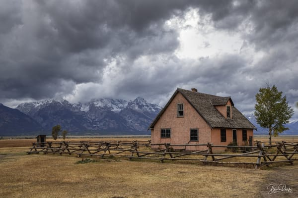 Old House in Grand Teton National Park