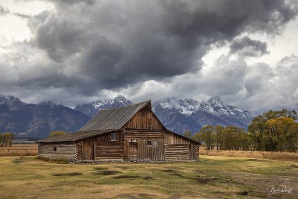 Old Barn in Grand Teton National Park IV