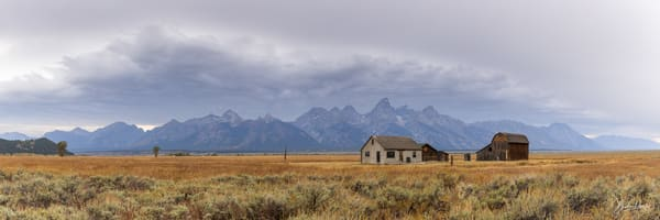 Old Homestead in Grand Teton National Park