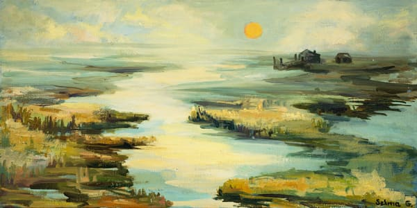 Long Island Waterways Art   Goldwoman Fine Art