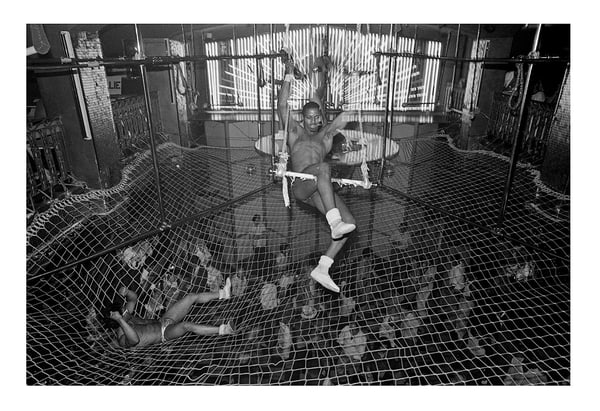 Gg's Barnum Room, Disco Bats Trapeze, 1979 Photography Art | Bill Bernstein Fine Art Collection