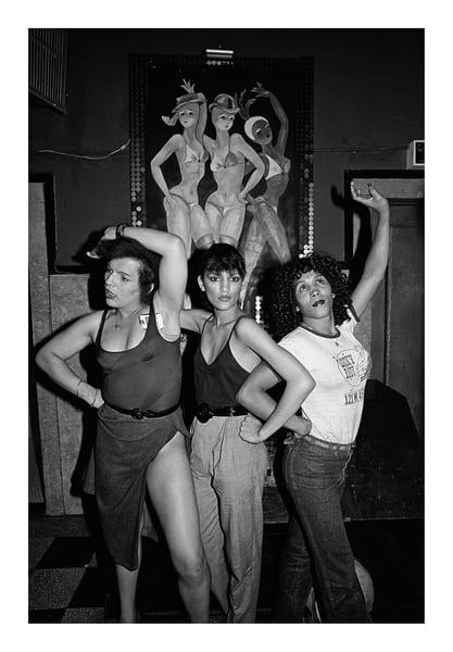 Gg's Barnum Room, Three Girls, 1979 Photography Art | Bill Bernstein Fine Art Collection