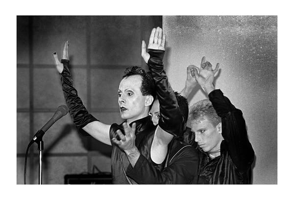 Klaus Nomi At Hurrah, 1979 Photography Art | Bill Bernstein Fine Art Collection