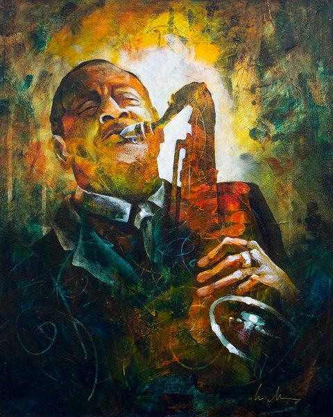 Legends : Coleman Hawkins Art | Marianne Morris Art