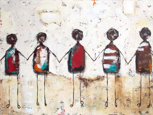 We're All In This Together No. 10   Print Art   Southern Heart Studio, LLC