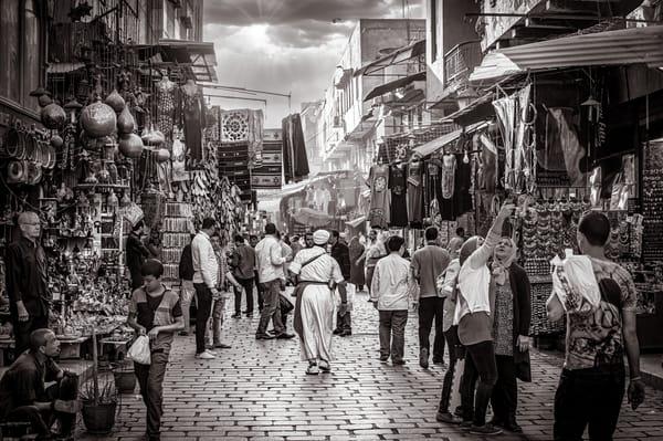 Cairo Bazaar Art Print