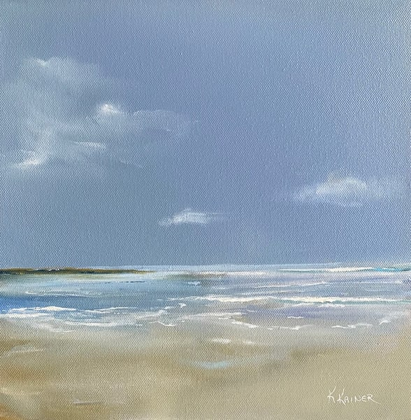 Beach Time by Coastal Artist Kristine Kainer