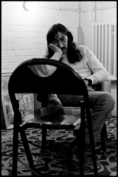 Fall River, Massachusetts - 18 February 1968.Jimmy Carl Black of The Mothers of Invention backstage prior to a performance.