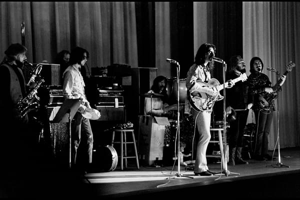 Fall River, Massachusetts - 18 February 1968. Frank Zappa and The Mothers of Invention in performance at the Durfee Theater..