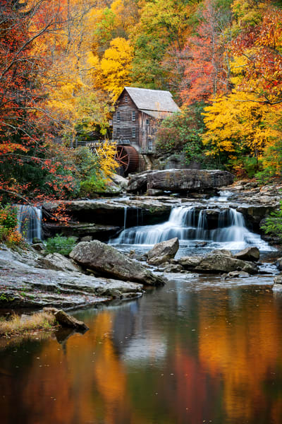 Reflections Of Autumn Photography Art | Ken Smith Gallery
