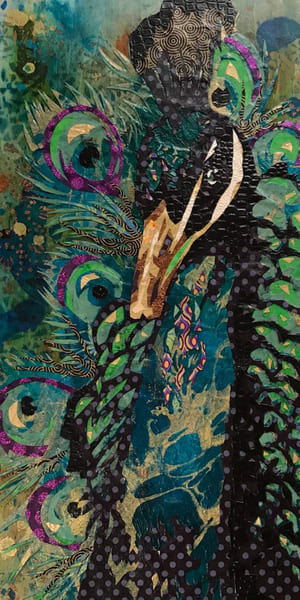 Peacock Art   Kristi Abbott Gallery & Studio