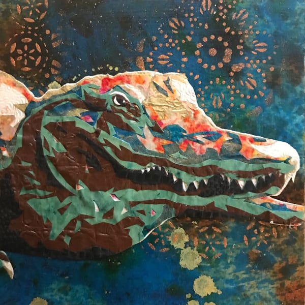 Alligator  Art   Kristi Abbott Gallery & Studio