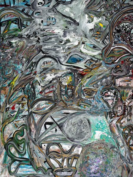 Eye On The Bridge | Abstract Art | JD Shultz Art