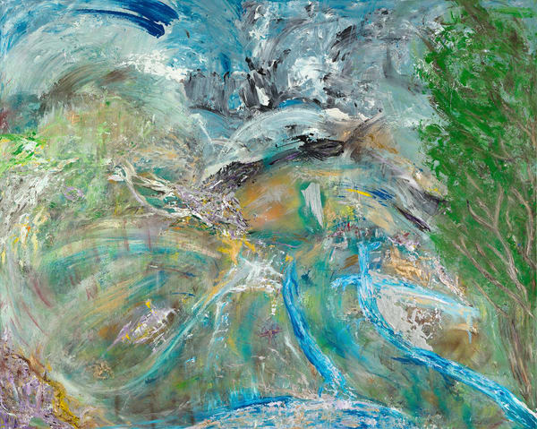 Love Streams   Abstract Art   JD Shultz Art